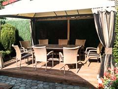 Sitzecke - Grillplat