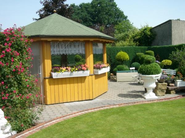 Garten der Pension Farwerk in Legden